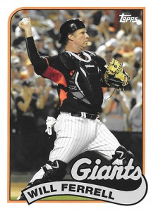 See All the Will Ferrell Cards in 2015 Topps Archives Baseball 9