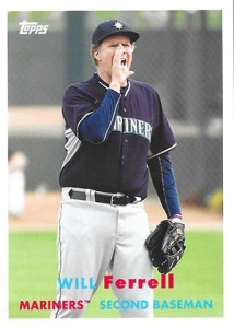 See All the Will Ferrell Cards in 2015 Topps Archives Baseball 6