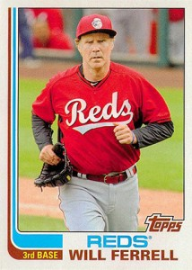 See All the Will Ferrell Cards in 2015 Topps Archives Baseball 8