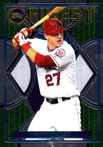 2015 Topps Finest Baseball 1995 Mike Trout