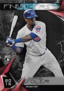 2015 Topps Finest Baseball Firsts Soler