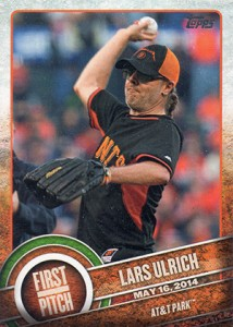 2015 Topps Baseball First Pitch Gallery and Checklist 22