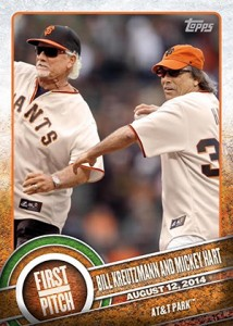 2015 Topps Baseball First Pitch Gallery and Checklist 24