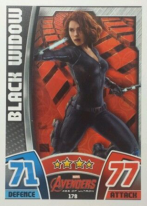 2015 Topps Marvel Avengers Hero Attax Trading Cards 25