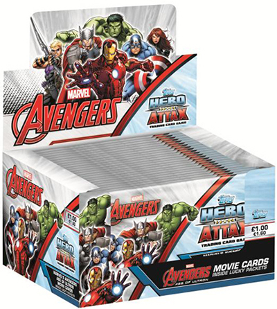 2015 Topps Marvel Avengers Hero Attax Trading Cards 1