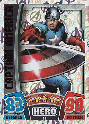 2015 Topps Marvel Avengers Hero Attax Trading Cards 21