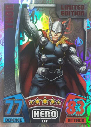 2015 Topps Marvel Avengers Hero Attax Trading Cards 26