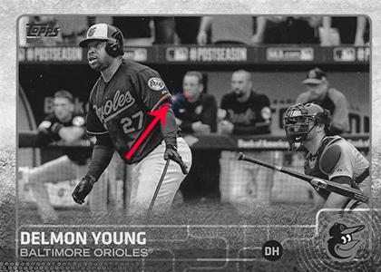 2015 Topps S2 Spark Spot 383 Delmon Young