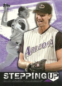 2015 Topps Series 2 Baseball Stepping Up Randy Johnson