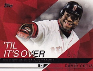 2015 Topps Series 2 Baseball Til Its Over Ortiz