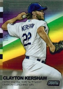2015 Topps Stadium Club Baseball True Colors Kershaw