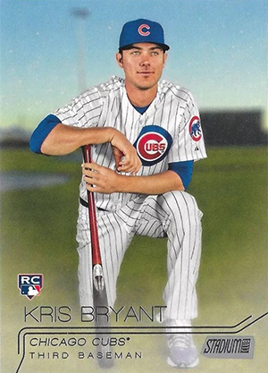 Kris Bryant Rookie Card Gallery and Checklist 15