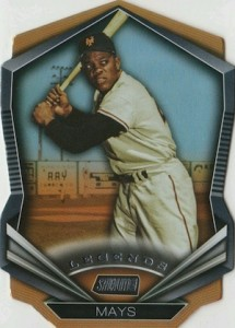 2015 Topps Stadium Club Legends Die-Cut Willie Mays