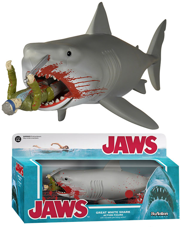 Funko Jaws ReAction Bloody Quint and Bruce