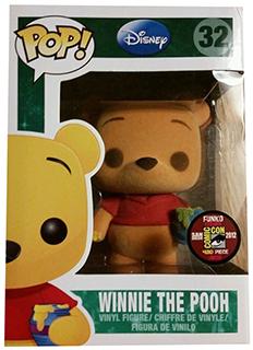 Funko Pop Disney 32 Flocked Winnie the Pooh