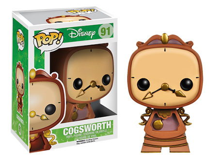 Funko Pop Disney 91 Cogsworth