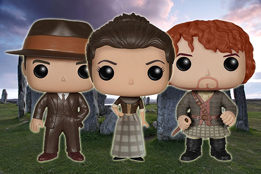 Funko Pop Outlander background