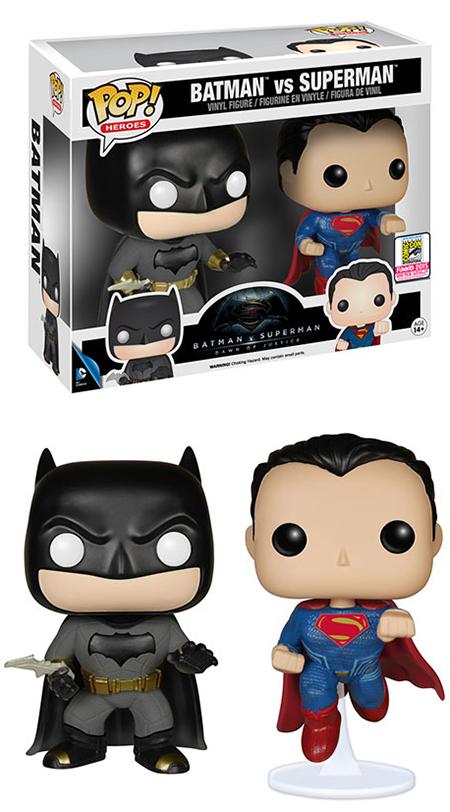 Funko Pop Superman vs Batman 2015 SDCC