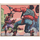 1949 Bowman Wild West Trading Cards
