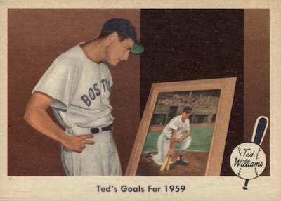 1959 Fleer Ted Williams Baseball Cards 26
