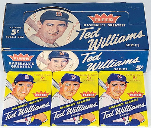 1959 Fleer Ted Williams Baseball Cards 1