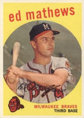 1959 Topps Baseball Cards 30