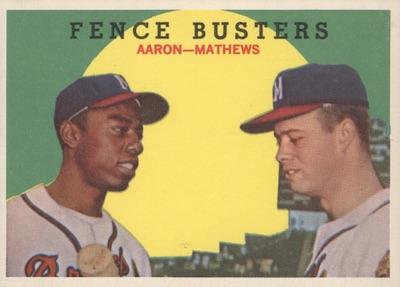 1959 Topps Baseball Cards 6