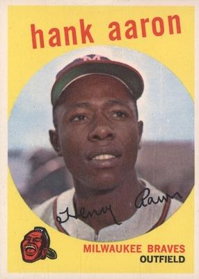 1959 Topps Baseball Cards 32