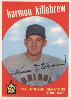 1959 Topps Baseball Cards 33