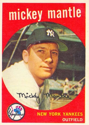 1959 Topps Baseball Cards 2