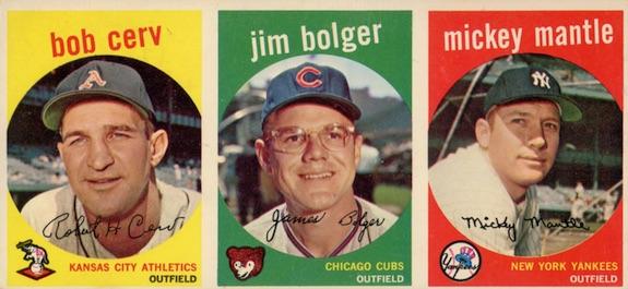 1959 Topps Baseball Cards 8