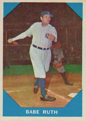 1960 Fleer Baseball Babe Ruth