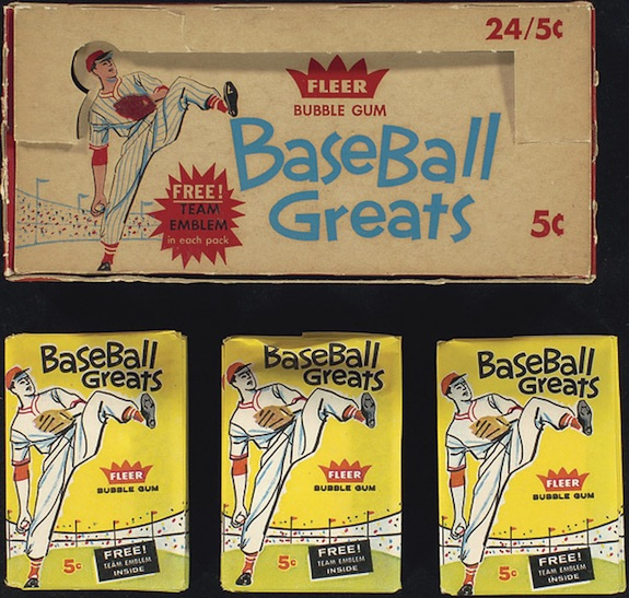 1960 Fleer Baseball Box Pack