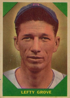 1960 Fleer Baseball Lefty Grove Pepper Martin 80