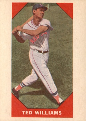 1960 Fleer Baseball Ted Williams