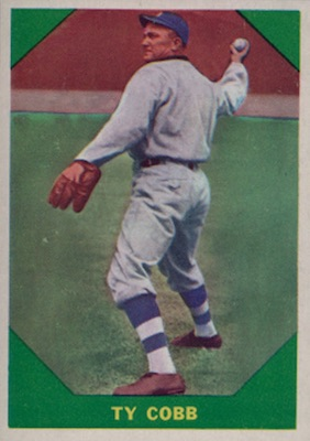 1960 Fleer Baseball Ty Cobb