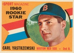 1960 Topps Baseball Carl Yastrzemski RC