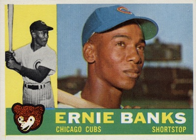 1960 Topps Baseball Ernie Banks
