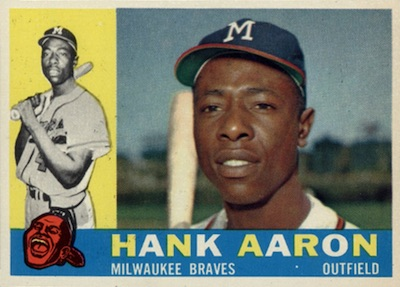 Top 10 Vintage Baseball Card Singles of 1960 9