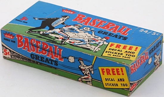 1961 Fleer Baseball Cards 1