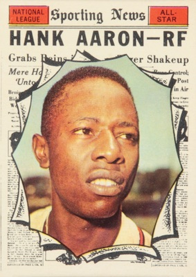 Vintage Topps Hank Aaron Baseball Cards Showcase Gallery and Checklist 18