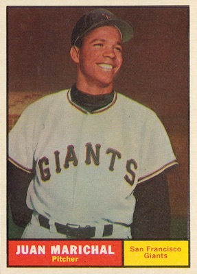 1961 Topps Baseball Juan Marichal RC