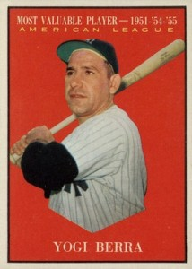 Celebrate the Life of Yogi Berra with His Top Baseball Cards 2
