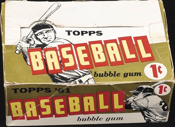 1961 Topps Baseball Cards 5