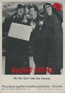 1965 Fleer Hogan's Heroes Trading Cards 1