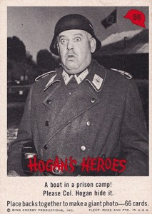 1965 Fleer Hogan's Heroes Trading Cards 2