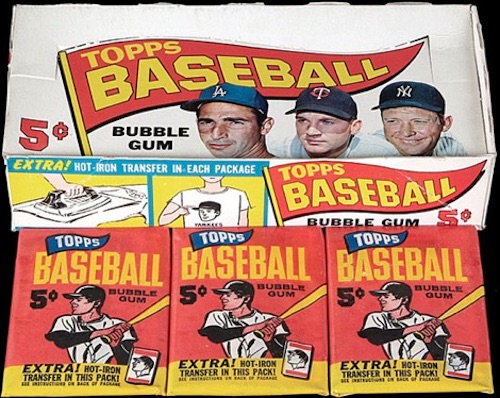 1965 Topps Baseball Box Pack