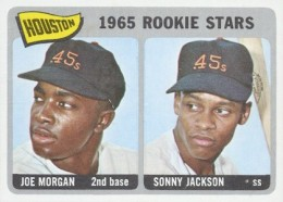 1965 Topps Baseball Joe Morgan Jackson RC
