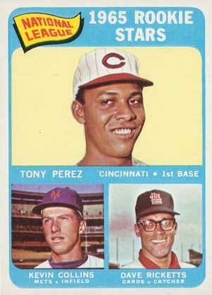 1965 Topps Baseball Tony Perez RC