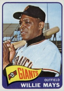 1965 Topps Baseball Willie Mays